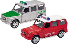 GoKi Polizei und Feuerwehr Mercedes Benz G,