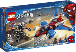 LEGO® Marvel Super Heroes# 76150 Spider-Men Spiderjet vs. Venom Mech