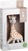 Sophie die Giraffe im Geschenkkarton, weiß