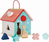 Sophie la girafe® Steck- und Sortierspiel Haus mit 7 Formen