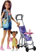 Mattel FJB00 Barbie #Skipper Babysitters Inc.'' Puppen und Kinderwagen Spielset