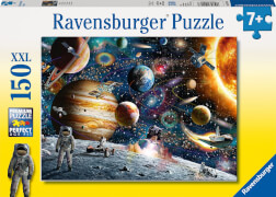 Ravensburger 100163 Puzzle: Im Weltall, 150 Teile
