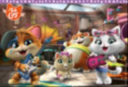 Ravensburger 05012 Puzzle: Die Buffycats machen Musik 2x24 Teile