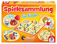 Schmidt Spiele 49181 Spielesammlung für Kinder, 2 bis 6 Spieler, ab 3 Jahre