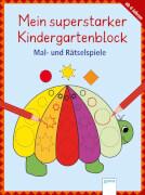 Arena - Mein superstarker Kindergartenblock: Malen, Suchen