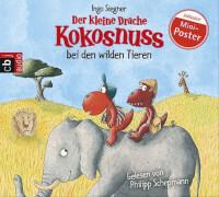 Der kleine Drache Kokusnuss - Folge 25: Der kleine Drache Kokosnuss bei den wilden Tieren / #. (CD)