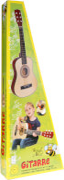 Boogie Bee Holzgitarre mit 6 Saiten, 75 cm