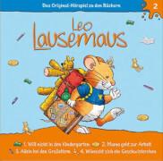 Leo Lausemaus - Folge 2: Leo will nicht in den Kindergarten (CD)