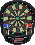 CARROMCO ELEKTRONIK DARTBOARD STRIKER-601, MIT ADAPTER, 3-LOCH ABSTAND