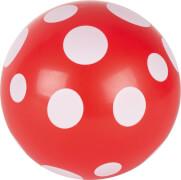 GoKi Ball rot mit weißen Punkten
